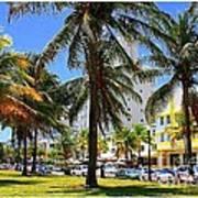 South Beach Miami Beach Art Print