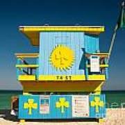 South Beach Miami Art Print