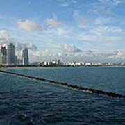 South Beach Miami Fl Art Print