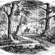 South Carolina Battlefield Art Print