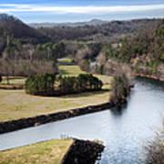 South Holston Dam View Art Print
