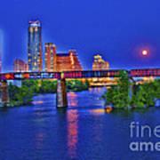South Lamar Bridge Art Print