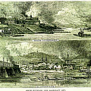 South Pittsburgh And Allegheny City Art Print