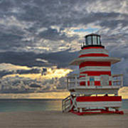 South Pointe Park Lighthouse Art Print