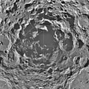 South Pole Of Moon  Art Print