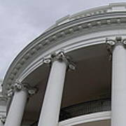 South Portico Of The White House Art Print