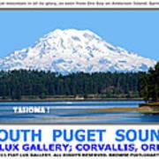 South Puget Sound Art Print