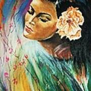 South Sea Flower Art Print