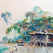 South Sea Home Art Print