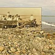 South Shore Beach In Little Compton Rhode Island Art Print
