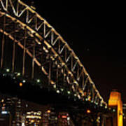 South Sydney Harbour Bridge Art Print