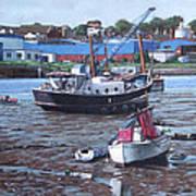Southampton Northam Boats Art Print