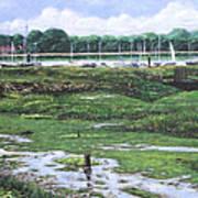 Southampton River Hamble Art Print