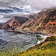 Souther California Coast Art Print