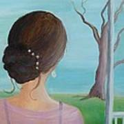 Southern Belle Art Print by Glenda Barrett