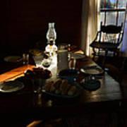 Southern Dinning Art Print