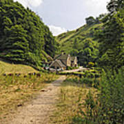 Southern End Of Wolfscote Dale Art Print