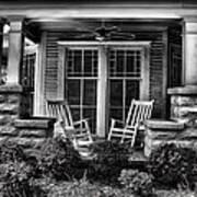Southern Front Porch 2 Art Print