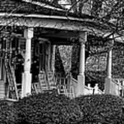 Southern Front Porch 4 Art Print