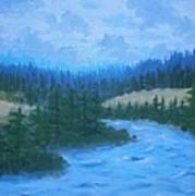 Southern Oregon Waters Art Print