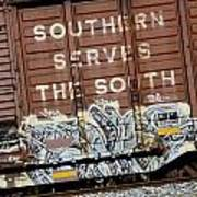 Southern Serves The South Art Print