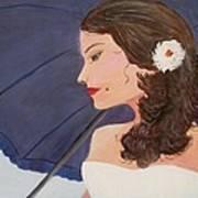 Southern Woman Art Print by Glenda Barrett