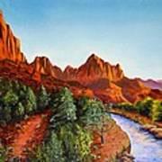 Southwest Afternoon Art Print