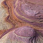 Southwest Stone Abstract 1 Art Print