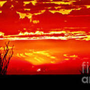 Southwest Sunset Art Print by Robert Bales