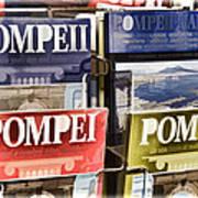 Souvenirs Of Pompei Art Print