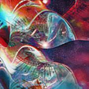 Space Bubble Art Print