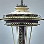 Space Needle Tower Seattle Washington Art Print