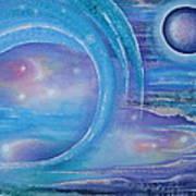 Space Paradise Art Print