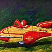 Space Patrol Two Art Print