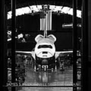 Space Shuttle Enterprise Art Print by Chris Bhulai