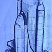 Space Shuttle Art Print