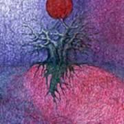 Space Tree Art Print