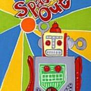 Spaced Out   Toyrobot Art Print