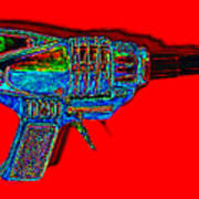 Spacegun 20130115v1 Art Print
