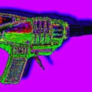 Spacegun 20130115v4 Art Print