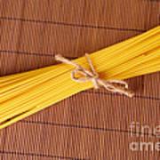 Spaghetti Italian Pasta Art Print by Monika Wisniewska