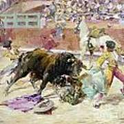 Spain - Bullfight C1900 Art Print