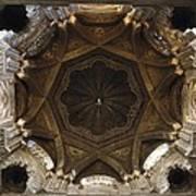 Spain. Cordoba. Mezquita Mosque. Dome Art Print