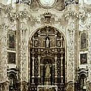 Spain. Granada. Cartuja Carthusian Art Print