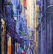Spain Series 10 Barcelona Art Print