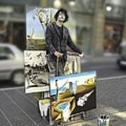 Painter In Spain Series 23 Art Print