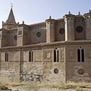 Spain. Teruel. Montalb�n. Church Art Print