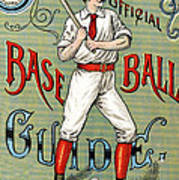 Spalding Baseball Ad 1189 Art Print by Unknown