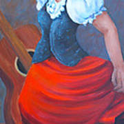 Spanish Dancer 2 Art Print