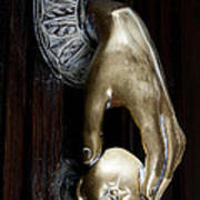 Spanish Door Knocker Art Print